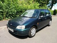 "TOYOTA STARLET 1.3 GLS ""TOP SPRC""ELDERLEY OWNER F.S.H YES ONLY 28,000 MILES"