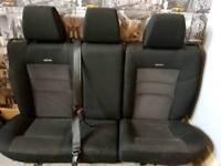Recaro rear seats