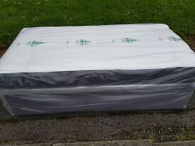 Brand New Quilted Comfy Single Quilted mattress and divan base bed set FREE delivery