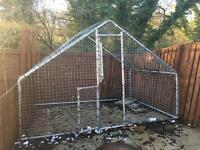 Dog Run Kennel House Cage
