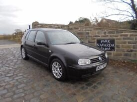 Volkswagen Golf 1.8 T In Black, 2000 W reg, Only 2 Former Owners, Service History, MOT June 2018