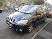 TOYOTA AVENSIS VERSO DIESEL D4D, { 7 SEATER }