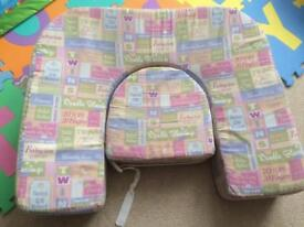 Twin breastfeeding pillow
