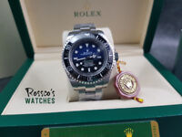 Rolex Deepsea Sea-Dweller D-Blue Edition. Rolex Box and Paperwork Included