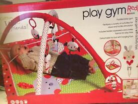 New red kite play gym mat