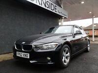 BMW 320D EFFICIENTDYNAMICS 4 DOOR SALOON, NEW MODEL IN BLACK