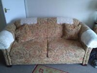 Settee & matching chair, free! Free! Free!