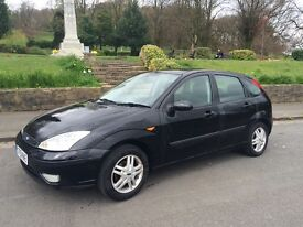 2001 ford focus automatic 12 month mot