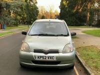 TOYOTA YARIS T3 1.0L 6 SERVICES 99850 WARRANTED MILES HPI CLEAR EXCELLENT CONDITION