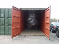 20 foot insulated storage containers available in Tendring