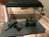 Eheim 54lt aquarium with accessories