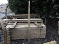 Fence post 100mmx100mmx2.4m