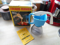Vintage Retro Bel Cream Maker ( BLUE) Boxed with Instructions