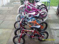 boys and girls bikes
