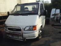 Spares Or Repairs Transit W Reg Chassie Cab With Turbo Engine Was in regular use