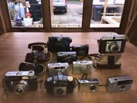 Cameras all different job lot