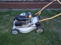 Self ran ryobi lawnmower