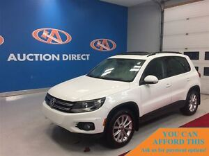 2013 Volkswagen Tiguan 2.0 TSI COMFORT LINE (A6), LEATHER, PANO