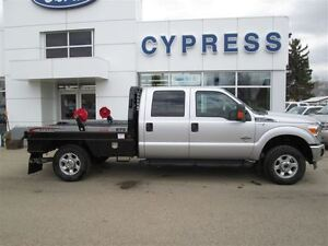 2014 Ford F-350 XLT C/C 4X4 WITH DEW EZE DECK