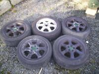 subaru wheels with tyres