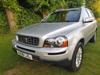 Volvo XC90 7 Seater automatic top spec diesel, fully serviced full leather, rear parking sensors