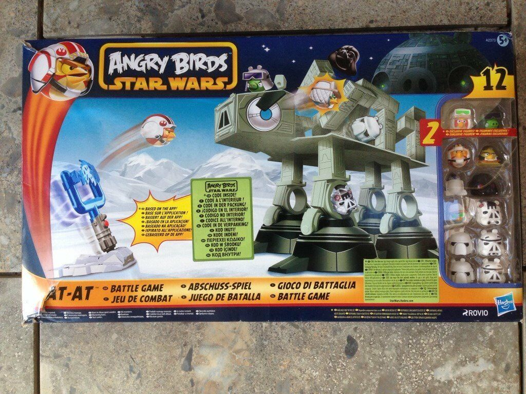 Angry Birds Star Wars AT-AT Attack Battle Game (A2373).