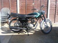 honda cg125-k1 125 125cc ,classic 1977, fully serviced, 12 months mot ,many new parts