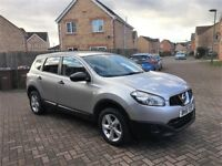 NISSAN QASHQAI +2 1.6, MILEAGE 60000, 7 SEATER, ONE PREVIOUS OWNER
