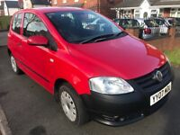 2007 Volkswagen Fox 1.2 Low Miles 5 Months mot cheap2Insure (Polo 206 Clio c1 Aygo 107 Up