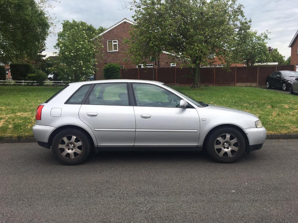 audi a3 1 9 tdi silver 1300 bargain 51 plate 2002 in oadby leicestershire gumtree. Black Bedroom Furniture Sets. Home Design Ideas