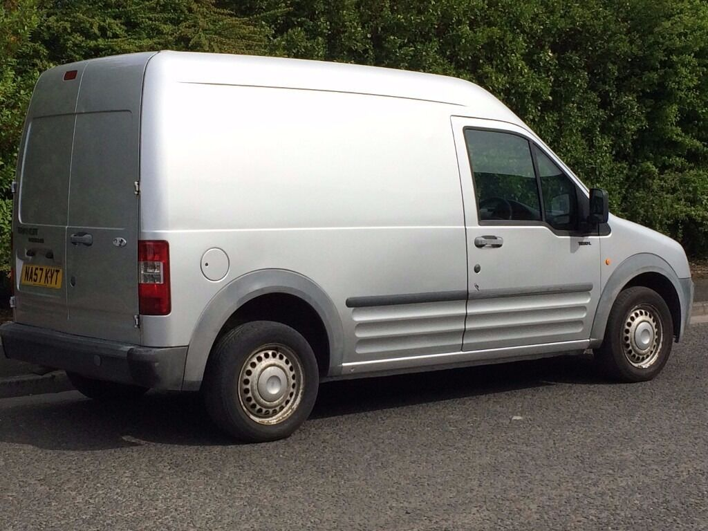 2007 57 ford transit connect lx 1 8 turbo diesel long wheel base high roof in newcastle tyne. Black Bedroom Furniture Sets. Home Design Ideas