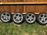 """GENUINE BMW 18"""" 441 M SPORT STYLE ALLOYS AND TYRES"""