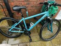 Ladies/girls mountain bike - 17inch frame