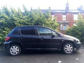2003 Peugeot 307 1.6 12 Months Mot Just Been Valeted Drive Away