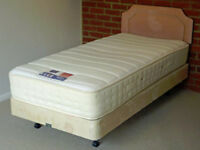 Single divan bed base and mattress (can sell separately)