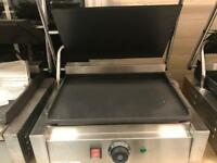Commercial panini grill catering resturant hotels pubs cafe burger van