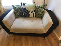 Furniture village city compact sofa