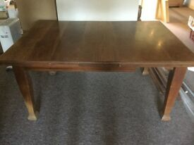 DOWNSIZING - Old Oak Extending Dining Table