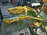 Bomford Mil tractor loader, leyland, db