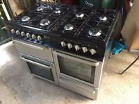 Double oven range flavel finesse 100 cooker