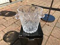 Argyl crystal vase or ice bucket