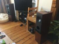 KEF 103/4 Floor Standing Speakers in good condition and good working order