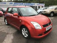 2007 SUZUKI SWIFT VVTS GLX ORANGE CHEAP 5 DOOR SERVICE HISTORY