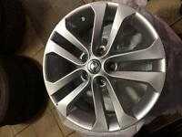 "17"" Nissan alloys"