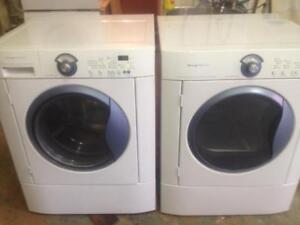 33- Laveuse Sécheuse Frontales FRIGIDAIRE  Frontload Washer Dryer