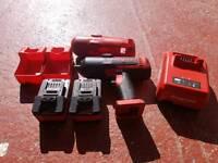 "Snap On Tools Lithium 18v 1/2"" Drive Cordless Impact Gun/Wrench"