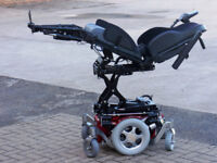 Salsa M Electric Seat Lift, Tilt, Recline, Legs, Led Lights. FREE Delivery. New Electric Wheelchair