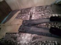 Prada jumper & jeans.