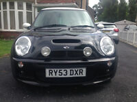 RELISTED - Mini Cooper S - 53 Plate - John Cooper Works Bodykit (RARE) - Black With White Roof
