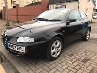 Alfa 147 2003 3 door 1.9d cheap car low miles, call
